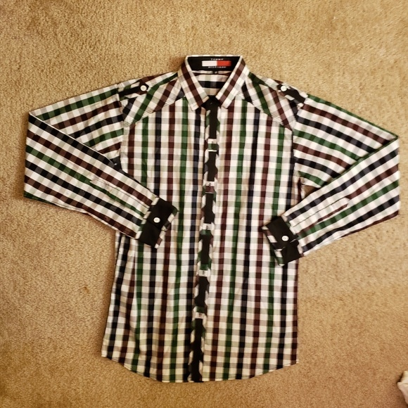 Other - Tommy Hilfiger Dress Shirt | M | Tight Fit